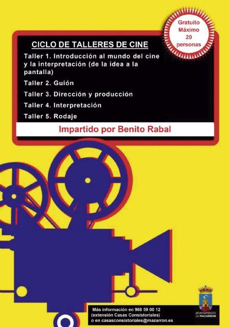 Benito Rabal impartirá un nuevo ciclo gratuito de talleres cinematográficos, Foto 2
