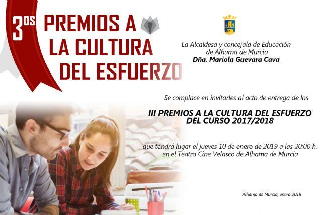 Los III Premios a la Cultura del Esfuerzo reconocen a 22 alumnos del curso 2017-2018, Foto 3