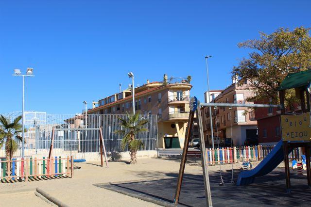 Los juegos infantiles de la avenida Ronda Poniente ya cuentan con iluminación - 1, Foto 1