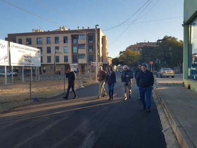 Una veintena de calles del Esparragal cuentan con nueva pavimentación para mejorar la seguridad de los vecinos - 2, Foto 2