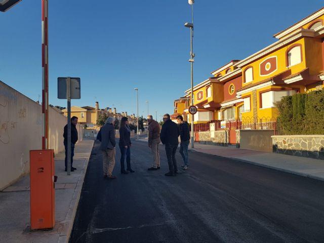 Una veintena de calles del Esparragal cuentan con nueva pavimentación para mejorar la seguridad de los vecinos - 3, Foto 3