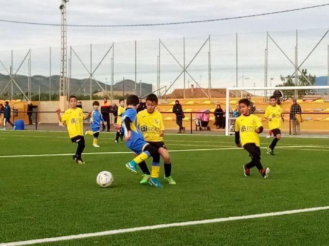 Publicados los horarios de la novena jornada de la Liga Comarcal de Fútbol Base - 1, Foto 1