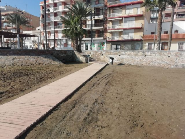 Las playas de Puerto de Mazarrón objeto de las primeras mejoras en el nuevo año, Foto 2