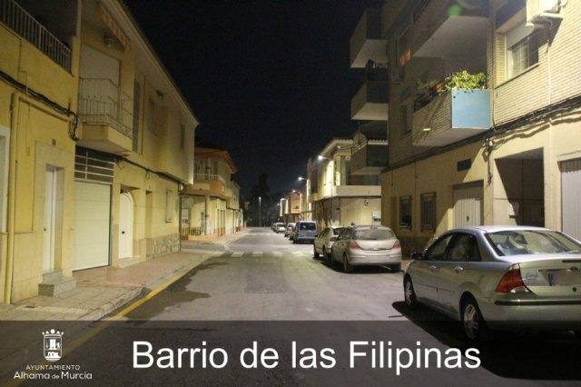 El Ayuntamiento renueva otras 700 farolas con iluminación LED, Foto 1