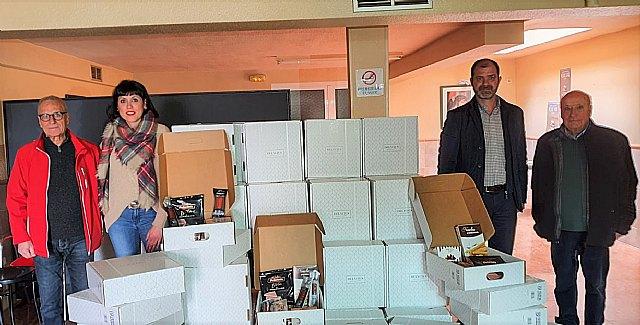 La empresa municipal Aguas de Cieza se sumó a la solidaridad esta Navidad - 1, Foto 1