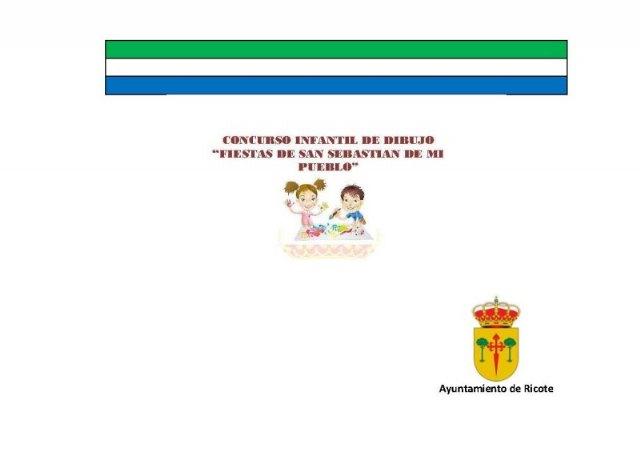 Concurso de dibujo para niños/as ¿Qué son para ti las fiestas de San Sebastián de Ricote? - 1, Foto 1