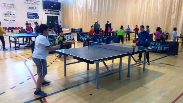 The Local Phase of School Sports Table Tennis was attended by 69 Totana schoolchildren, Foto 5