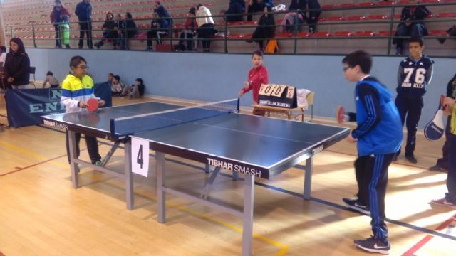 The Local Phase of School Sports Table Tennis was attended by 69 Totana schoolchildren, Foto 7