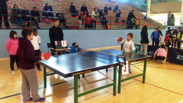 The Local Phase of School Sports Table Tennis was attended by 69 Totana schoolchildren, Foto 9
