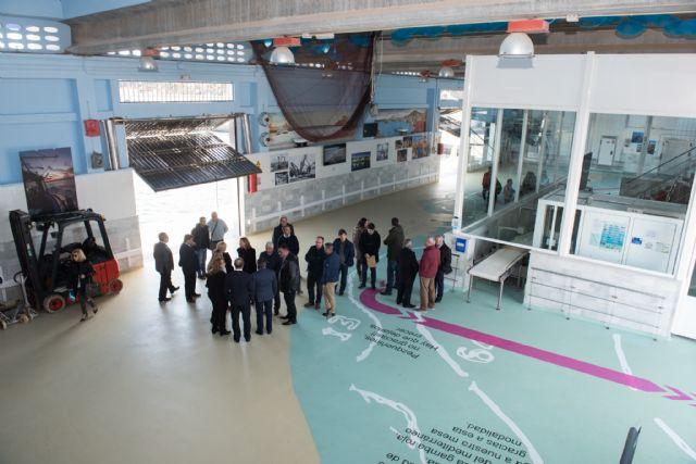 La lonja de Puerto de Mazarrón potencia su imagen como centro turístico interpretativo, Foto 1