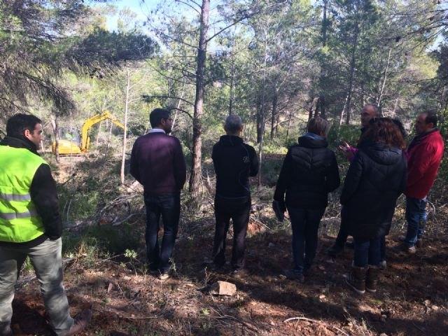 La Comunidad desarrolla trabajos de prevención de incendios con aprovechamiento de la biomasa sobre 391 hectáreas de Mula - 2, Foto 2