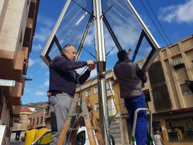 El Ayuntamiento instala un módulo LED para dar información a los vecinos, Foto 1