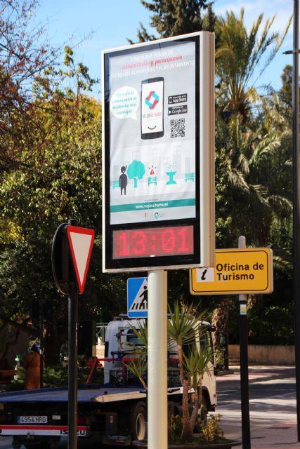 El Ayuntamiento instala un módulo LED para dar información a los vecinos, Foto 4