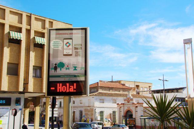 El Ayuntamiento instala un módulo LED para dar información a los vecinos, Foto 5