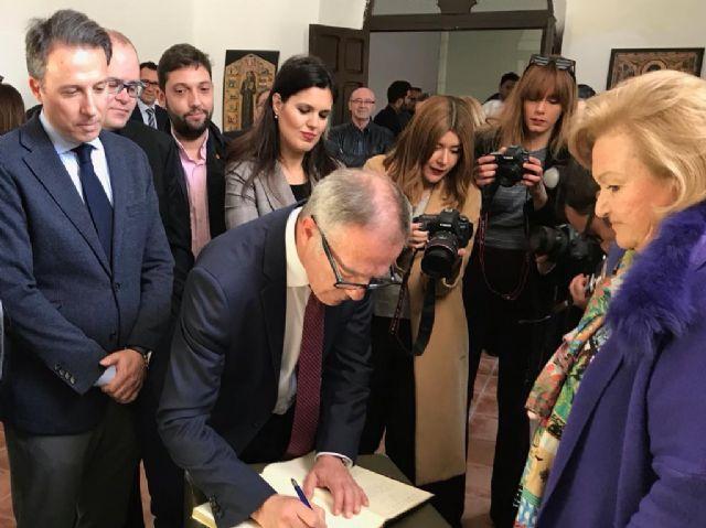 El Alcalde solicita al Ministro de Cultura que su departamento priorice la declaración del bordado lorquino en su Semana Santa como Patrimonio de la Humanidad - 3, Foto 3