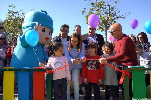 Pocoyó asiste en Nueva Cartagena a la inauguración de su parque infantil - 1, Foto 1