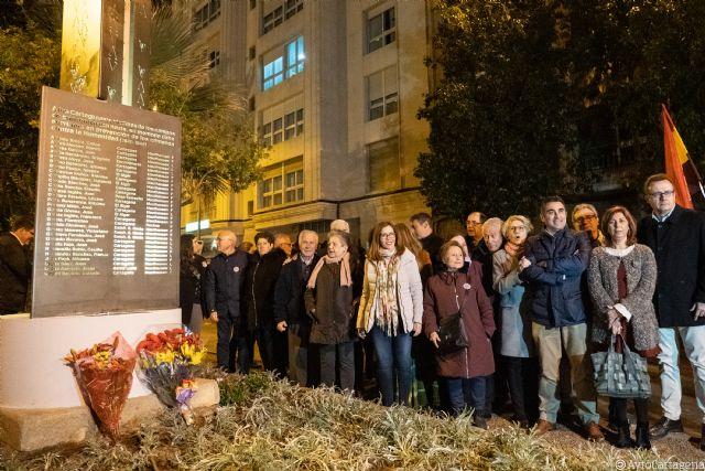 Los 57 cartageneros, víctimas de los campos de concentración nazi, ya tienen su monumento - 1, Foto 1
