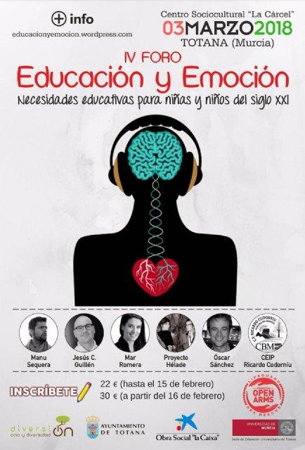 El VI Foro Educaci�n y Emoci�n tuvo lugar el pasado s�bado 8 de febrero, Foto 5