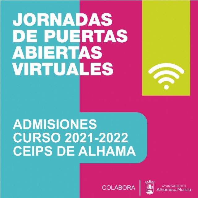 Jornadas de puertas abiertas virtuales en los colegios de Alhama. Admisiones curso 2021-2022, Foto 1