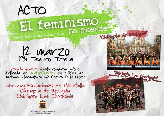 EL FEMINISMO NO MUERDE campaña por el 8 de marzo, Día Internacional de la Mujer - 1, Foto 1