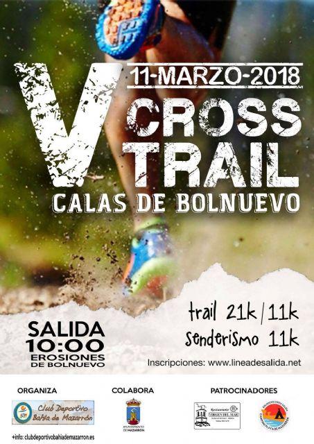 500 corredores tomarán la salida en el V cross Calas de Bolnuevo, Foto 1