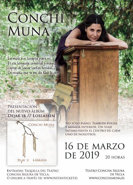 Conchi Muna presenta enYecla su nuevo trabajo Dejar ir - 4, Foto 4