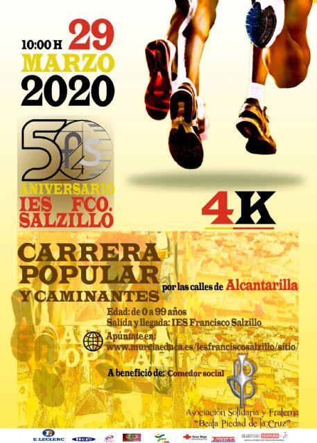 El 29 de marzo, fiesta deportiva por los 50 años del IES Francisco Salzillo - 1, Foto 1