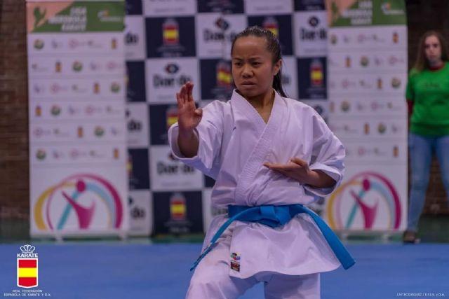 La murciana Irene Yao Alcaraz Carrión, disputa la final en la 1º Fase de la Liga Nacional de Karate - 1, Foto 1