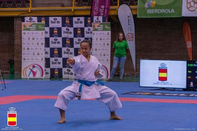 La murciana Irene Yao Alcaraz Carrión, disputa la final en la 1º Fase de la Liga Nacional de Karate - 2, Foto 2