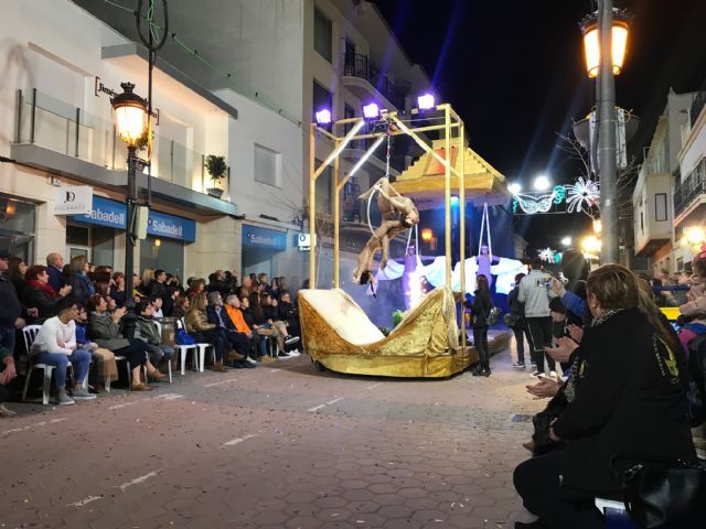 Peña Alegría, first prize foreign comparsas of the IV Parade of Carnival Parades of Torre Pacheco