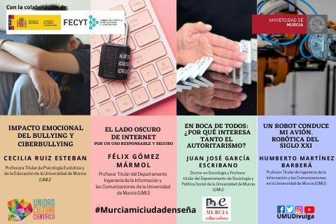 La UMU y el Ayuntamiento de Murcia unidos para llevar la ciencia a los institutos - 1, Foto 1