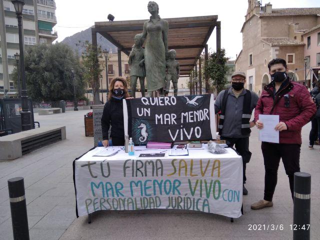 La agrupación ciezana de Somos Región da todo su apoyo al mar menor - 1, Foto 1