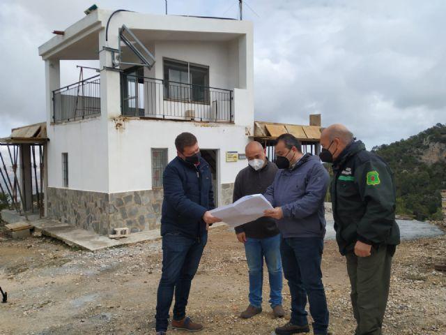 La Comunidad mejora las instalaciones del punto de vigilancia fija ´Coto Salinas´ en Yecla para prevenir incendios forestales - 1, Foto 1