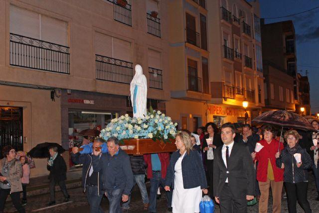 La Virgen de Lourdes visita Puerto Lumbreras - 2, Foto 2