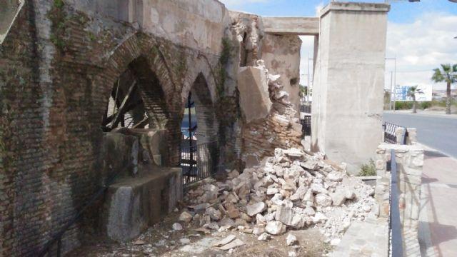 Huermur denuncia en la Guardia Civil las obras de la Junta de Hacendados en la Rueda de Alcantarilla - 2, Foto 2