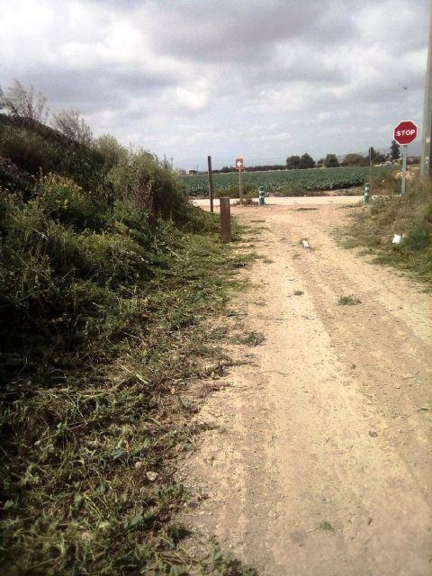 Los propietarios de fincas que deban hacer uso obligado de tramos de la Vía Verde Campo de Cartagena-Totana para acceder a sus propiedades han de solicitar autorización al Consorcio de Vías Verdes de la Región de Murcia - 5, Foto 5