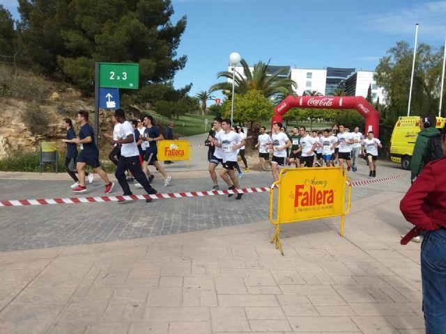 Un millar de corredores participaron en la XIII Carrera Popular Universidad de Murcia