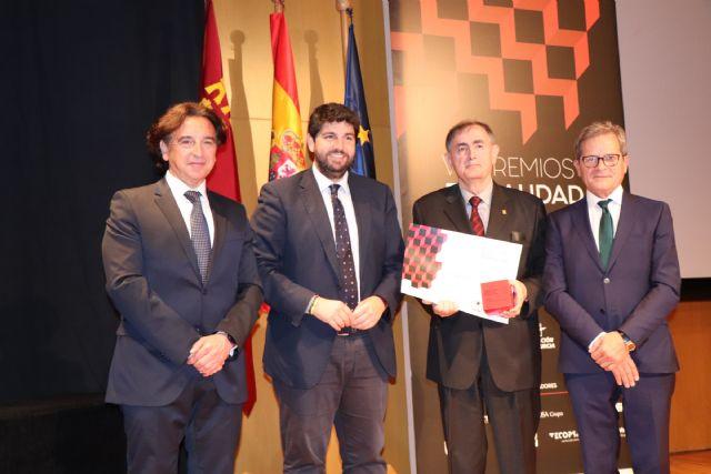 Fernando López Miras asiste al acto de entrega de los VIII Premios de Calidad en la Edificación de la Región - 2, Foto 2