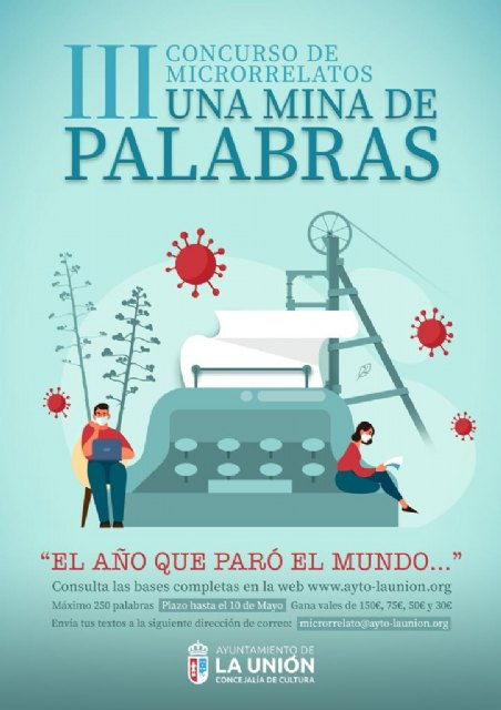 """La Concejalía de Cultura presenta su III Concurso de Microrrelatos """"Una mina de palabras"""" - 1, Foto 1"""