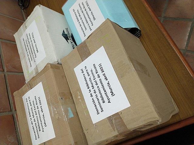 Donación a la Biblioteca Municipal de Ricote - 1, Foto 1