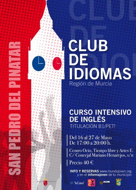 El Club de Idiomas de Juventud llega a San Pedro del Pinatar del 16 al 27 de mayo - 1, Foto 1