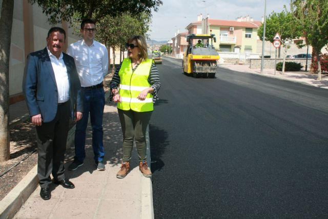 The paving works on Moratalla Street (San Francisco) end this week