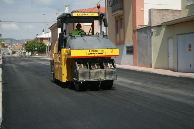 The paving works on Moratalla Street (San Francisco) end this week - 5