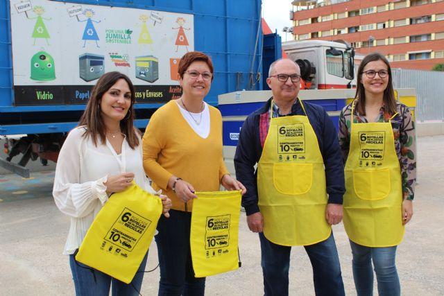 Jumilla, segundo municipio de la Región que más cartón ha reciclado durante el pasado año - 2, Foto 2