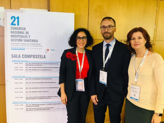 El Hospital de Molina presenta varios proyectos y estudios en el 21 Congreso Nacional de Hospitales y Gestión Sanitaria - 1, Foto 1
