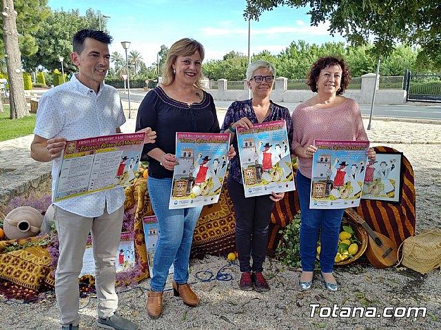 "La Peña ""La Mantellina"" organizes the Festival of Folklore and Traditions ""Totana, Kingdom of Murcia"" - 1"