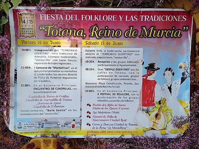 "La Peña ""La Mantellina"" organizes the Festival of Folklore and Traditions ""Totana, Kingdom of Murcia"" - 3"