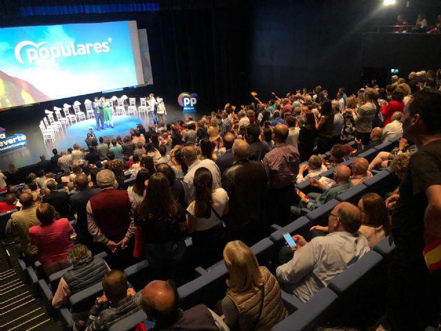 Más de medio millar de personas arropan la presentación de la candidatura del Partido Popular de Águilas - 2, Foto 2