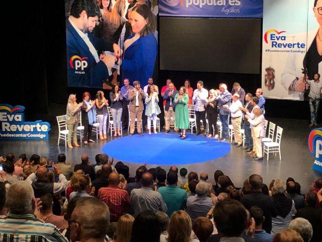 Más de medio millar de personas arropan la presentación de la candidatura del Partido Popular de Águilas - 3, Foto 3
