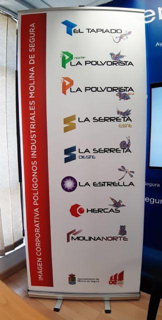 Un asociado de ASECOM crea la nueva imagen corporativa de los polígonos industriales de Molina de Segura - 1, Foto 1